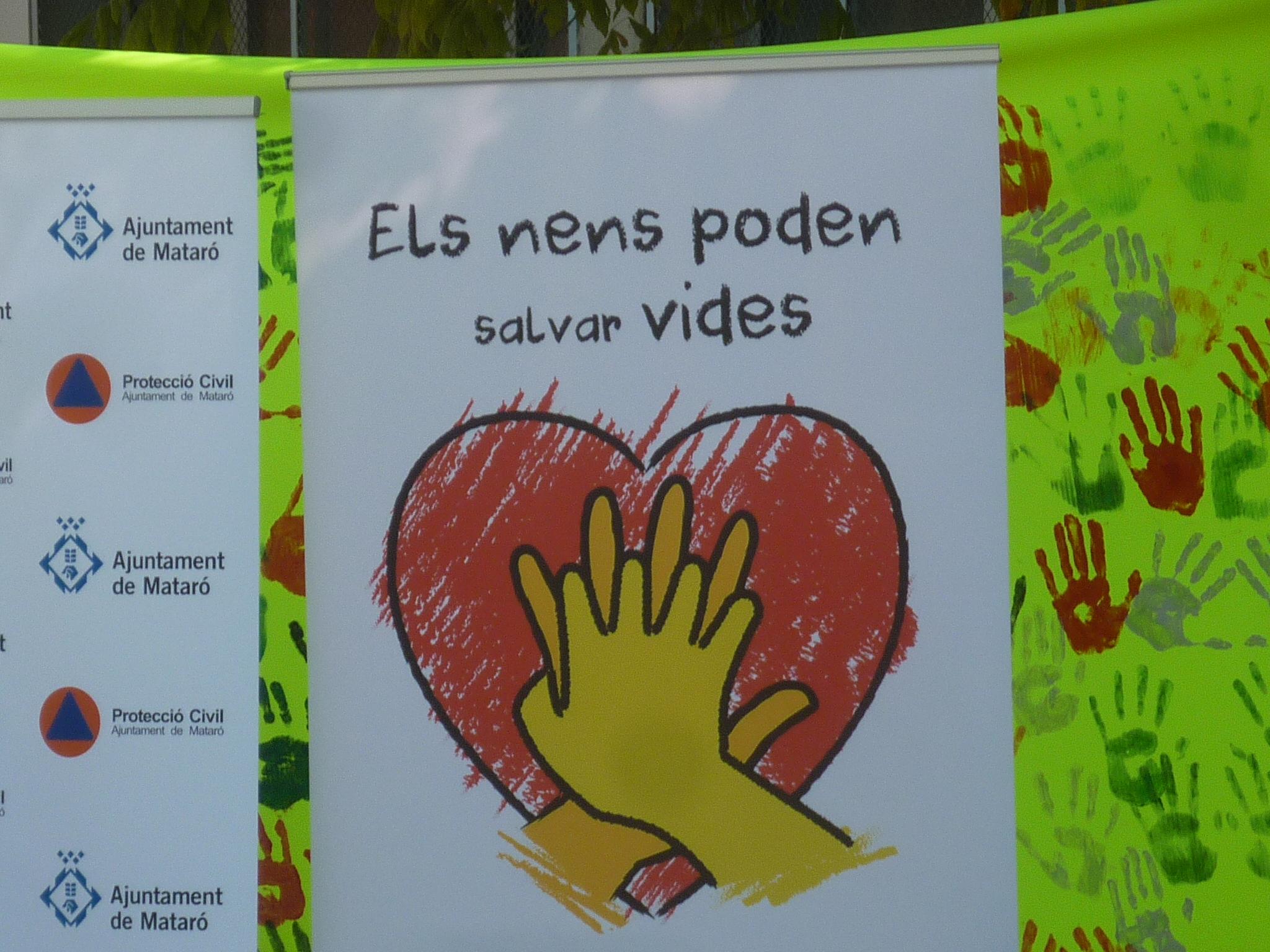 """Els de 3r i 4t d'ESO en el """"Dia europeu de la conscienciació de l'aturada respiratòria"""""""