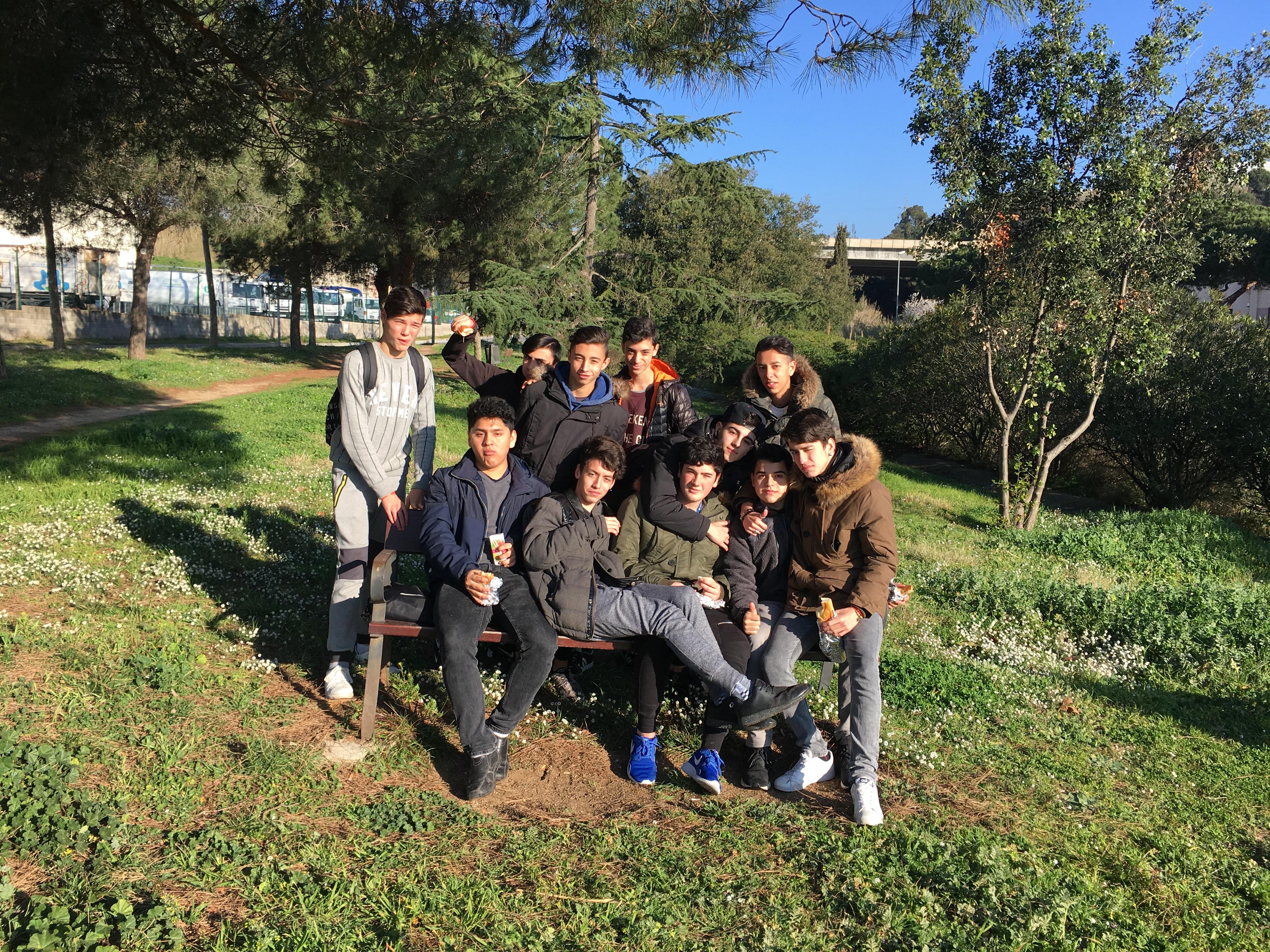 Els alumnes del PFI d'Informàtica van visitar l'empresa Canon.