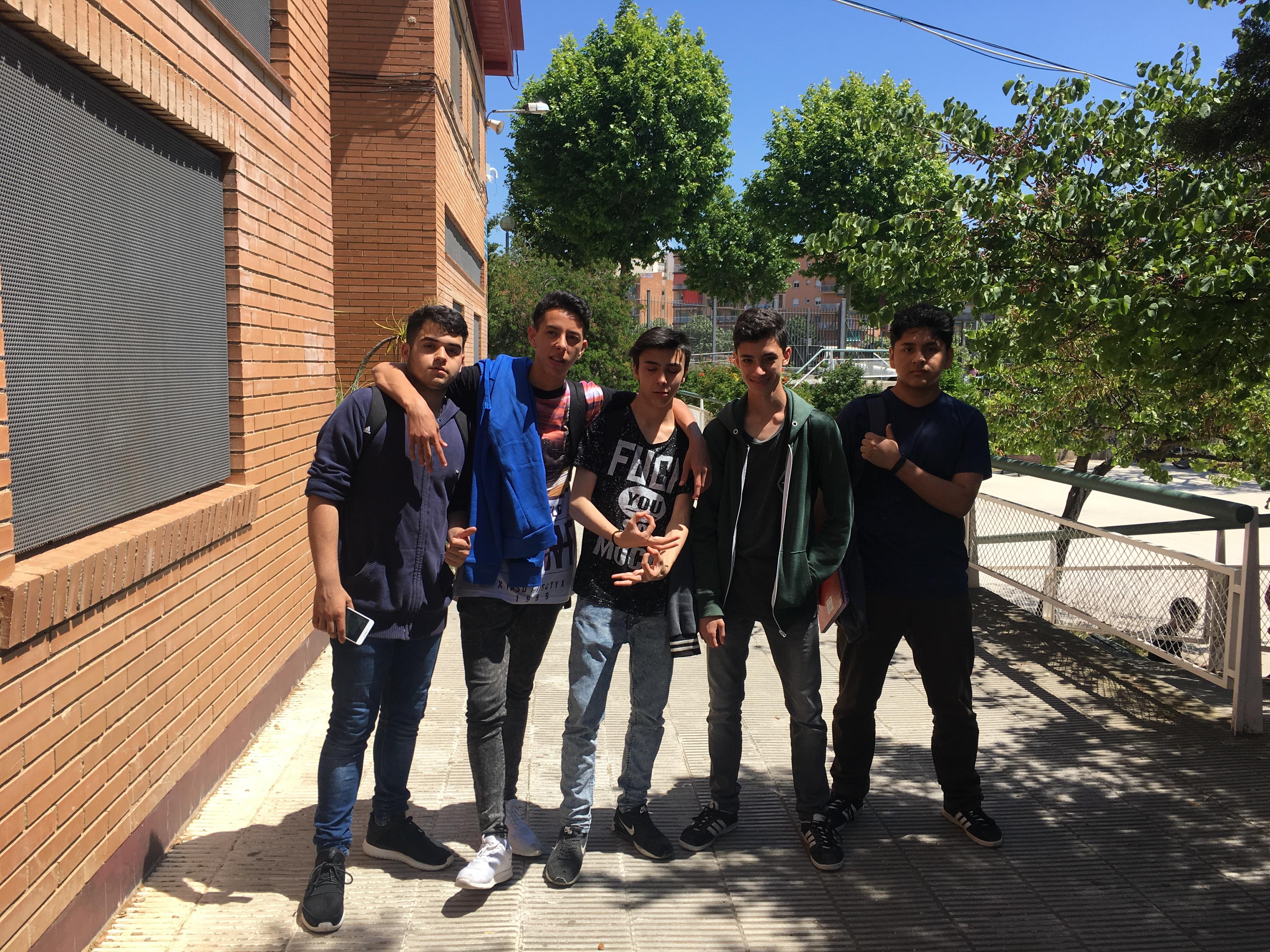 Els alumnes del PFI d'Informàtica visiten l'Institut Thos i Codina