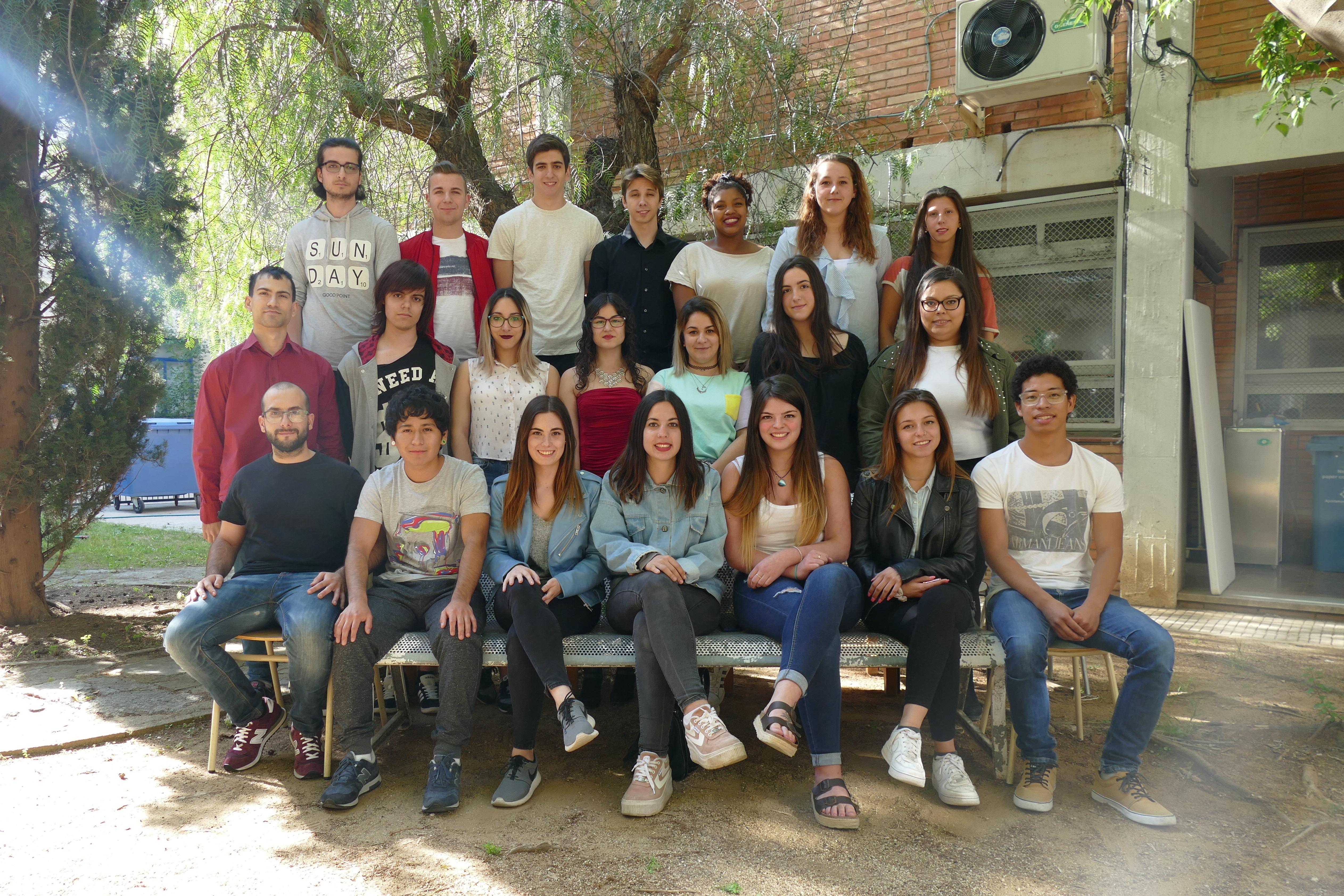 Comiat dels alumnes de Cicles Formatius i Curs Pont