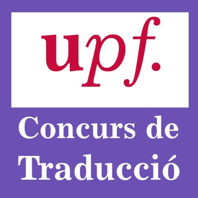 XIXé Concurs de Traducció de la Universitat Pompeu Fabra