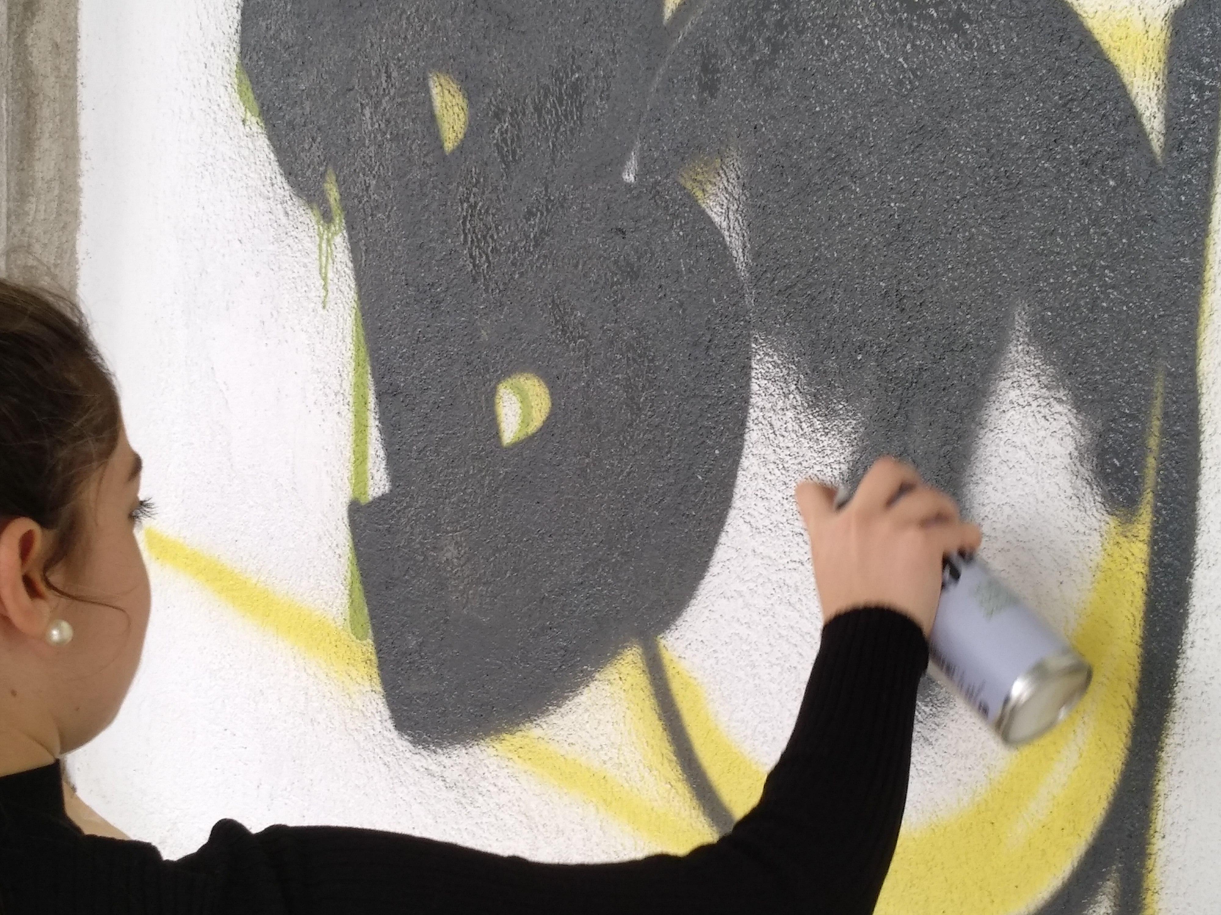 Tenim un nou grafiti: tu ets la bomba!