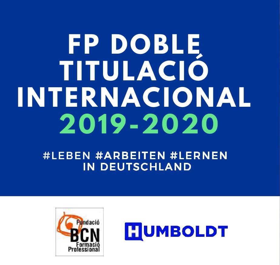 Convocatòria per realitzar pràctiques laborals remunerades a Alemanya (2019-20)