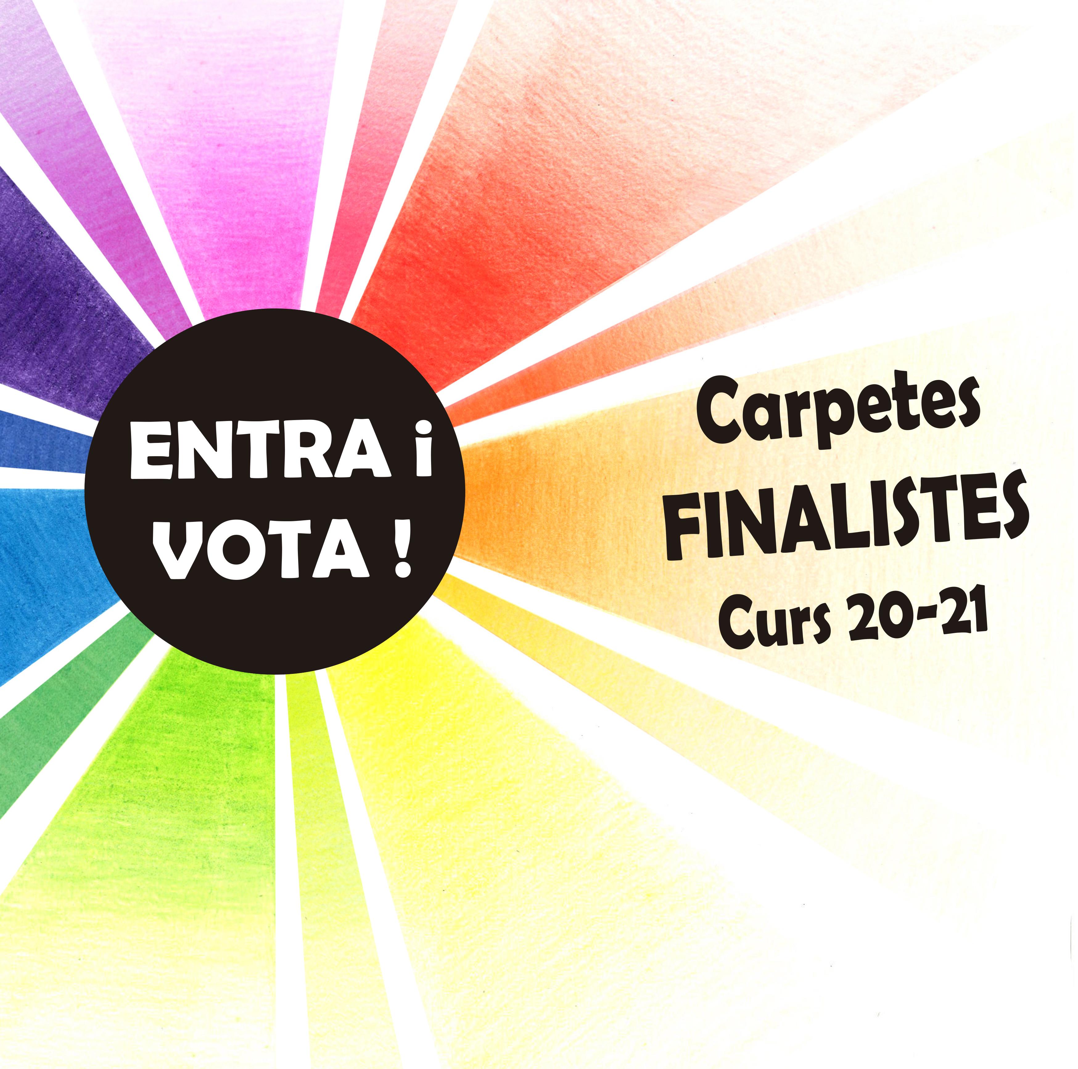 Dissenys finalistes per la carpeta del curs 21-22