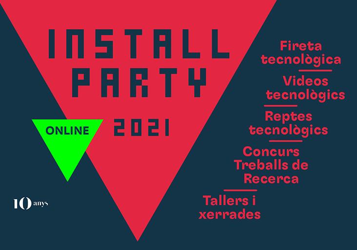 Install Party '21 de Tecnocampus